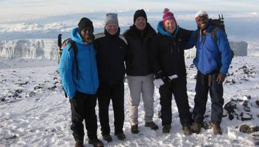 Kilimanjaro climb -Marangu Route