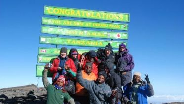 Kilimanjaro - Lemosho Route & Wildlife Safari