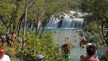 Krka Waterfalls and Sibenik Tour from Split and Trogir