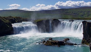 Lake Myvatn and Godafoss Short Tour