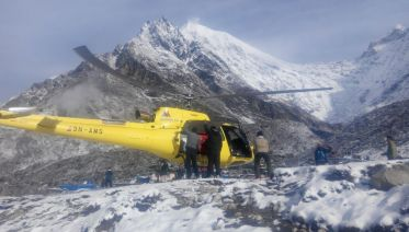 Langtang Trek with Chopper Return