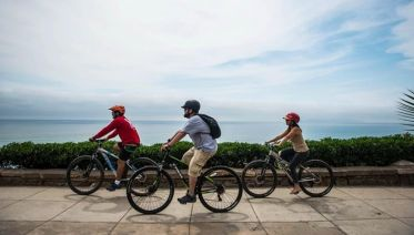 Lima Coast Biking