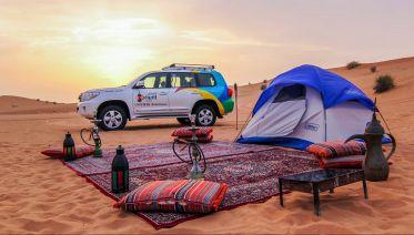 Liwa Desert Overnight Camping Safari