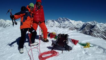 Lobuche Peak With The Everest Base Camp Trek