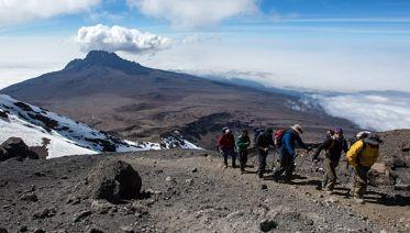 Machame Route Kilimanjaro Trekking