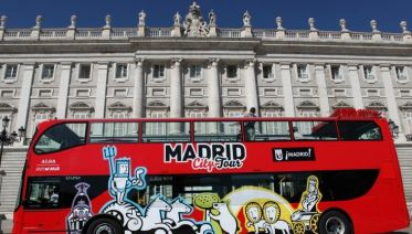 Madrid Hop On & Hop Off City Tour