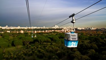 Madrid Panoramic Tour and Cable Car