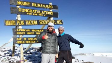 Marangu route 6 days 5 nights