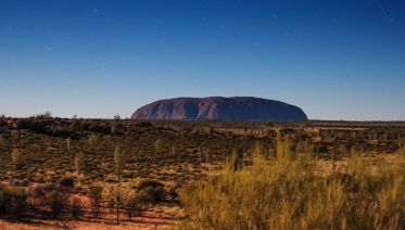 Melbourne to Alice Springs Overland
