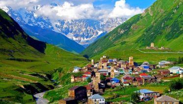 Mestia And The Trails Of Svaneti