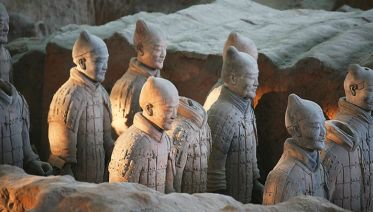 Mini-Group Xian Day Tour to Terracotta Army, City Wall