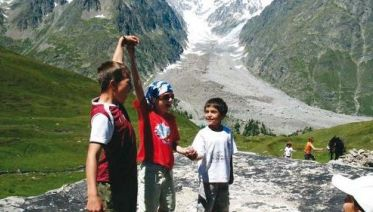 Mont Blanc Family Walk - France To Italy