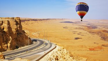 Moonlight Safari with Sunrise Hot Air Balloon From Dubai