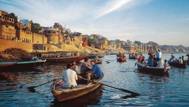 Morning Boat Ride & Temple Visit In Varanasi