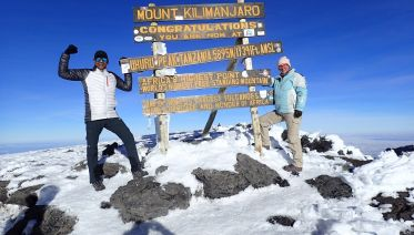 Mount Kilimanjaro Climb via Lemosho Route: 7 Days
