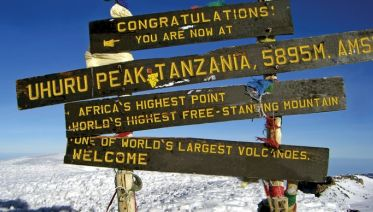 Mount Kilimanjaro Climbing Machame Route Climb 2019