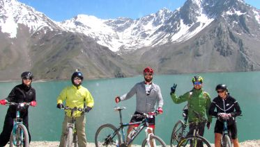 Mountain Bike Tour Embalse El Yeso