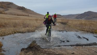 Mountain Biking Mongolia