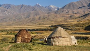 Mountains & Deserts of Central Asia