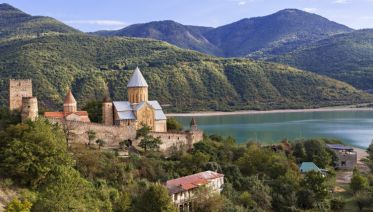 Mountains and Monasteries