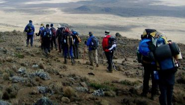 Mt. Kilimanjaro Lemosho Route Trek (Via Crater Camp)
