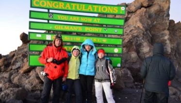Mt Kilimanjaro Machame Route 7 days 6 nights