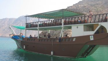 Musandam Dibba cruise day trip package