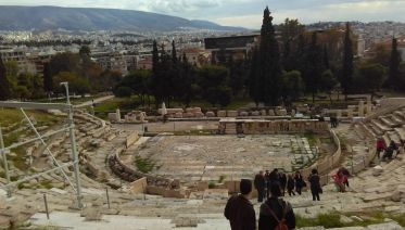 Mythology Walking Tour Of Athens With Coffee
