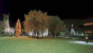 New Year's Celebration In Reykjavik