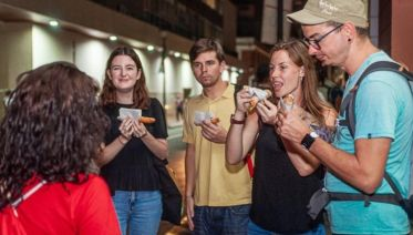 Night Street Food Tour in the Historic Center of Lima