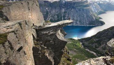 Norwegian Fjord Hiking