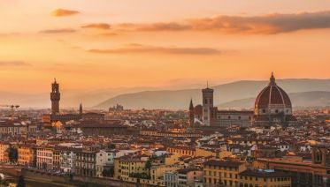 Panoramic Tour of Florence on a Vespa from Montecatini