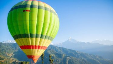 Paragliding, Bungee Jumping, Zip Lining & Hot Air Balloon Experience