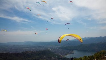 Paragliding, Ziplining and Bungee Combo