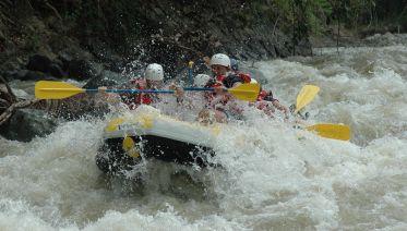 Phuket Adventure: Rafting And Zipline