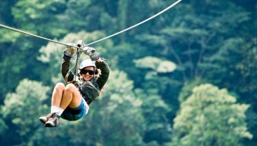 Private Arenal Volcano Zip Line Canopy and Hot Springs