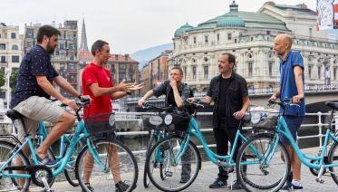 Private Bilbao: City Highlights Bike Tour: From Iron to Titanium