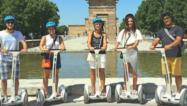 Private Guided Segway Tour - City To The Retiro Park 2 H