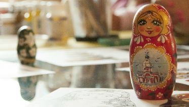 Private Matryoshka-doll Painting Class In St. Petersburg
