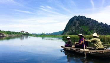 Private Tour Van Long Floating Village And Kenh Ga Geyser