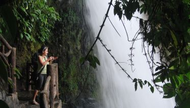 Private Transfer to Arenal is included La Paz Waterfalls