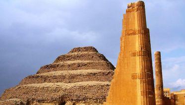 Pyramids, Sakkara & Dahshur