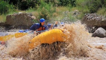 Rafting in Mendoza