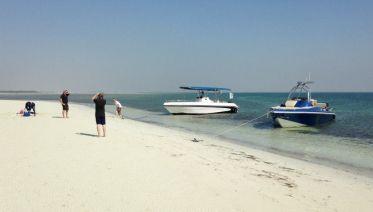 Remote Natural Beach Getaway Day Cruise