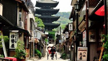 Rickshaw tour in Higashiyama, Kyoto