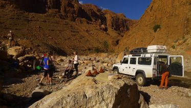 Rock Climbing & Yoga in Todra Gorge