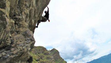 Rock Climbing Around Bogota