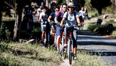 Rome: Appian Way Half Day Bicycle Tour