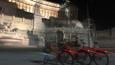 Rome By Night: On Pizza and a Bike!!