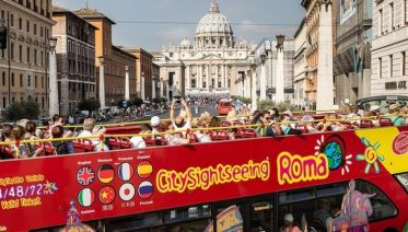 Rome Hop-On Hop-Off 48h Pass Experience
